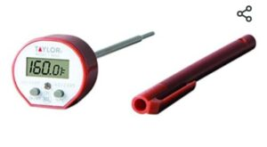 Taylor precision Products Taylor Commercial Waterproof Cooking Digital Thermometer